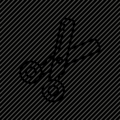 cutter, equipment, scissors, tool icon