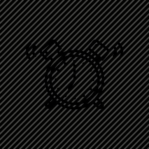 Alarm, clock, morning, alert, bell icon - Download on Iconfinder