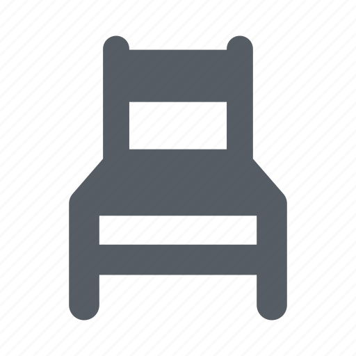 chair, furniture, interior, seat, sit icon