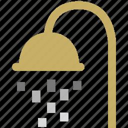 bathroom, home, hotel icon