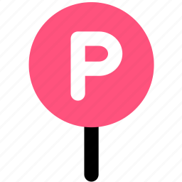 car, park icon