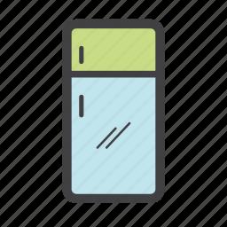 cold water, food storage, freezer, fridge, kitchen, refrigerator icon