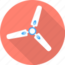 bedroom, fan, furniture, household, room icon