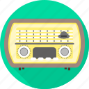 radio, transmeter, transmission icon