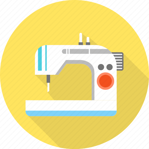 appliance, home, household, machine, sew, sewing, tailoring icon