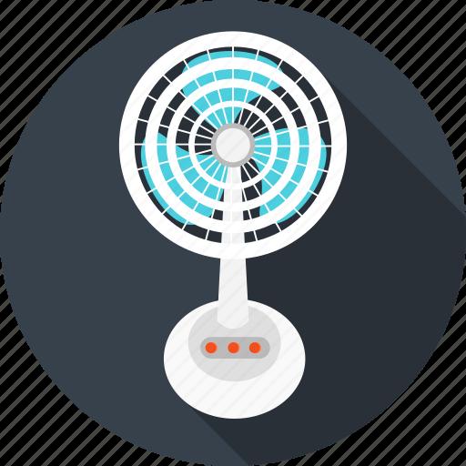 appliances, ceiling fan, fan, home, household, table icon