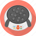 appliances, cooking, food, kitchen, machine, pan cake icon