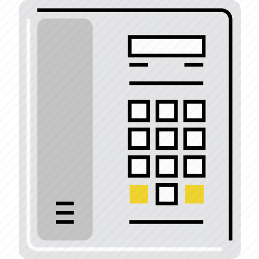 communication, connection, cordless, home, intercom, phone, telephone icon