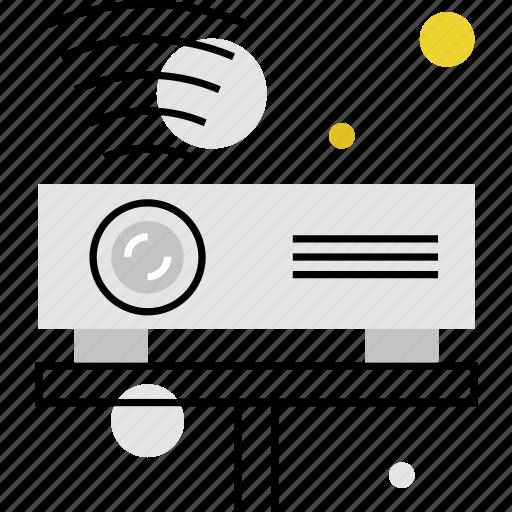 cinema, digital, multimedia, projection, projector, video icon
