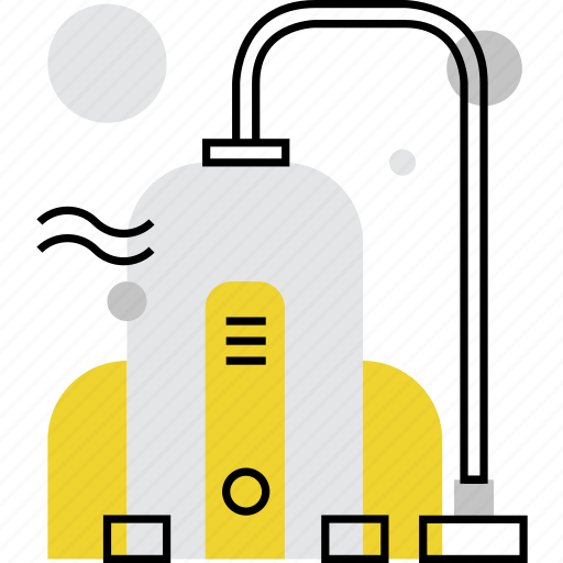 cleaner, cleaning, hoover, hoovering, house, housing, vacuum icon