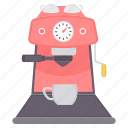 appliance, appliances, coffee maker, home appliances, utencils icon