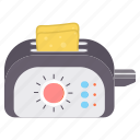 appliance, appliances, home appliances, toaster, utencils icon
