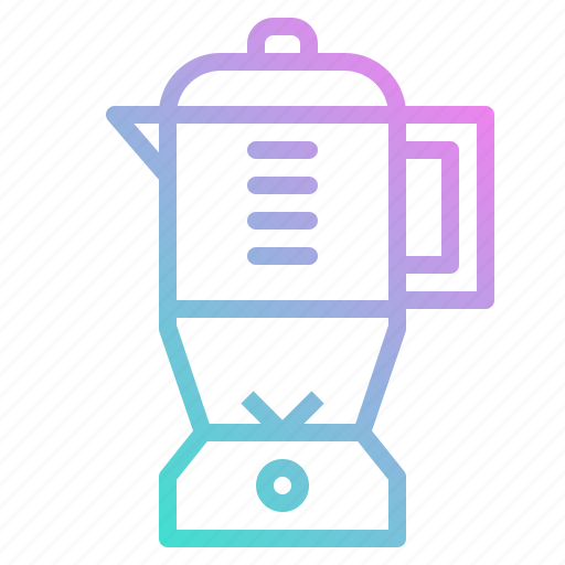 blender, cooking, kitchenware, mixer icon