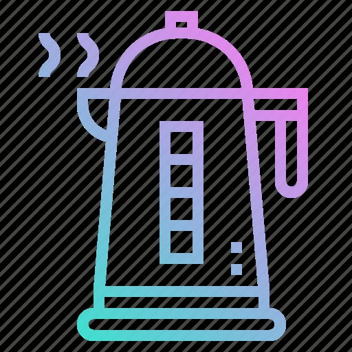 boil, boiler, cook, fireplace, pot icon