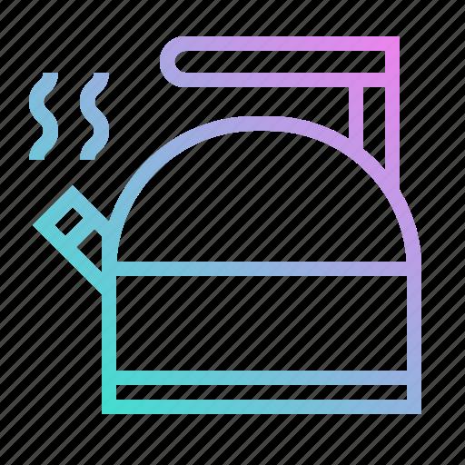 boiler, coffee, hot, kitchenware, pot, tea icon
