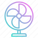 air, conditioner, cooler, cooling, fan, warm icon