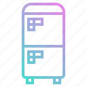 cold, electronic, fridge, kitchen, refrigerator icon