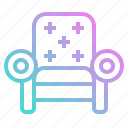 couch, furniture, relax, rest, sofa icon