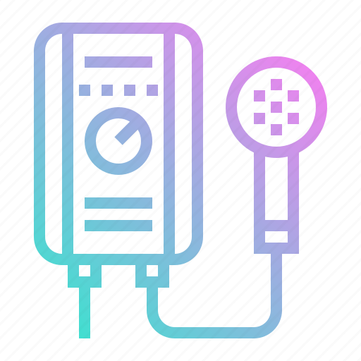 automation, electrical, heater, technology, water icon