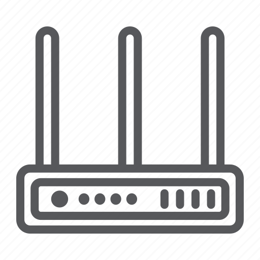 antenna, connection, internet, network, router, wifi icon
