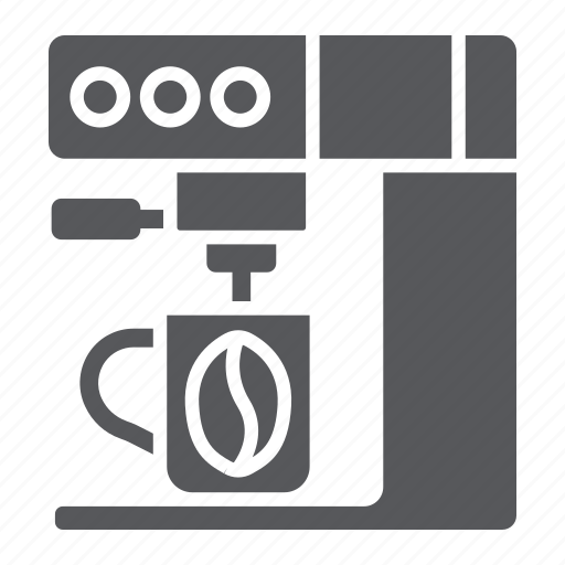 coffee, cup, household, machine, maker icon