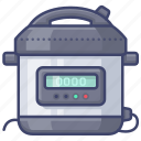 cooker, instant, pot, pressure icon