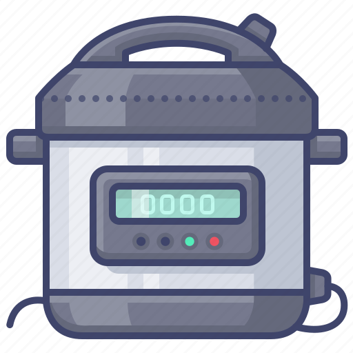 cooker, instant, pot, pressure icon