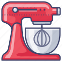 appliance, kitchen, mixer, stand icon