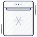 fridge, kitchen, minibar, refrigerator icon