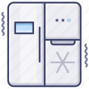 kitchen, fridge, refrigerator