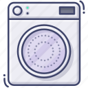 clothes, dryer, electric, laundry icon