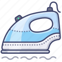 flatten, iron, steam icon