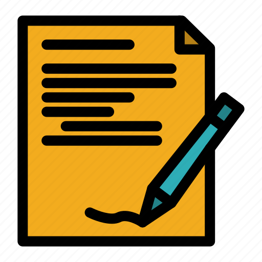 Agreement, note, paperdocument, report icon - Download on Iconfinder