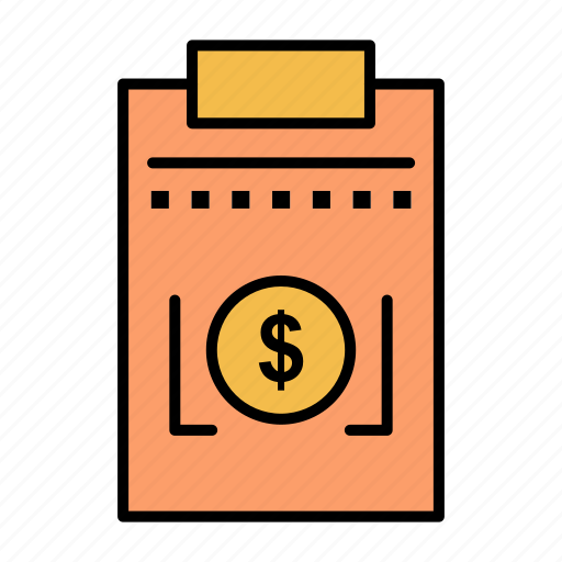business, dollar, expense, money icon