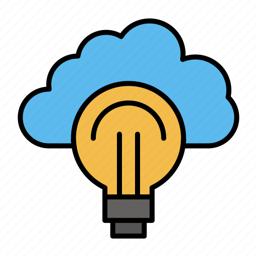 bulb, focus, idea, light, success icon