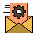 Cogwheel Data Data Processing Integration Management Icon