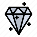 crystal, diamound, prize, sucess icon