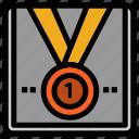 award, medal, star, trophy, winner