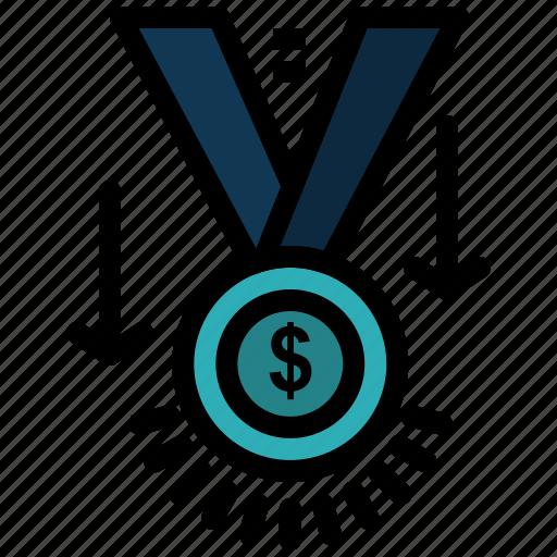 Award, medal, star, trophy, winner icon - Download on Iconfinder