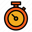 stopwatch, time, timmer, watch icon
