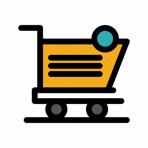 cart, item, shipping, shopping, store icon
