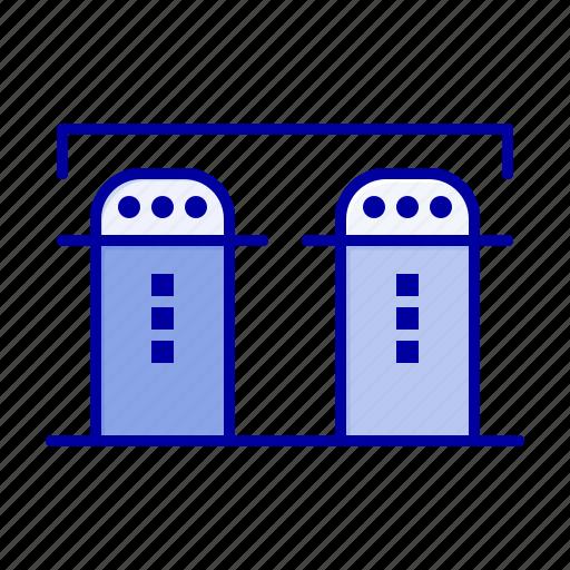 Bottle, paper, salt, spices icon - Download on Iconfinder