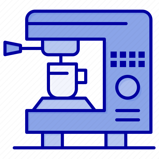 Coffee, electric, home, machine icon - Download on Iconfinder