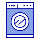 kitchen, machine, washing icon