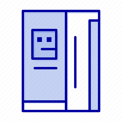 cooling, freezer, fridge, refregerator icon