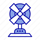 electric, fan, home, machine icon