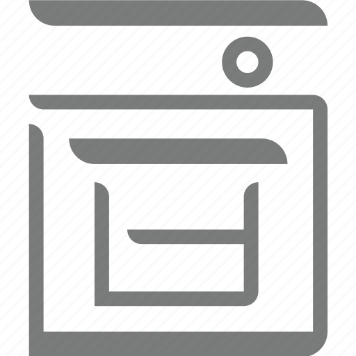 homeappliances, oven icon