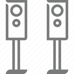 homeappliances, speaker icon