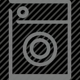 homeappliances, machine, washing, washing machine icon