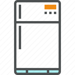 cold, cooler, freezer, fridge, household, kitchen, refrigerator icon